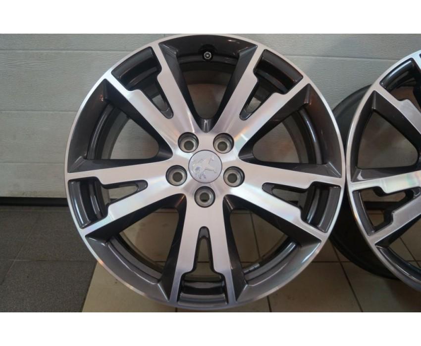 Felgi Aluminiowe 18 Peugeot 407 508 Rcz Czujniki Pk Serwis